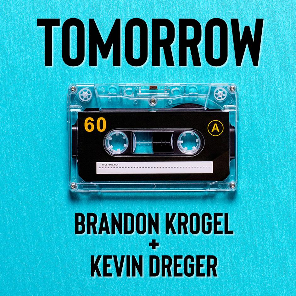 tomorrow album art by brandon krogel and kevein dreger in kelowna